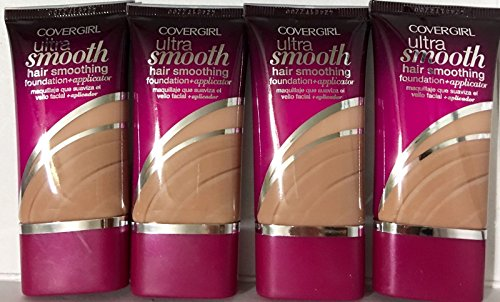 Ultra Natural Foundation (CoverGirl Ultra Smooth Foundation,840 Natural Beige, (Pack of 4))