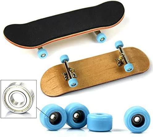 Tastiere Professionali Finger Board Toy Set Movimento Creativo delle Punte delle Dita per I Bambini XIAOTIAN Mini Fingerboard Finger Skateboard Toy 2PCS