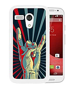 New Beautiful Custom Designed Cover Case For Motorola Moto G With Gesture Drawn (2) Phone Case