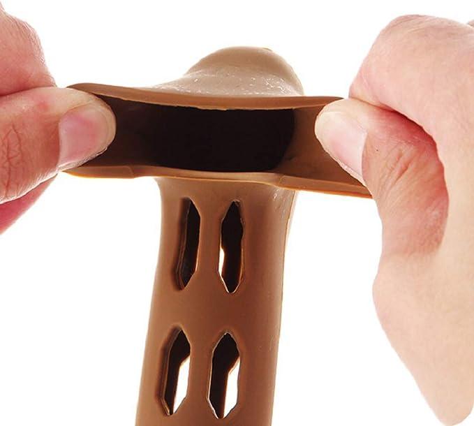 Vosarea Pomo de la Puerta de Silicona Manija de la manija de Silicona Forma L Manija de la Puerta Cubierta de la Bolsa Protectora para ni/ños Guantes caf/é