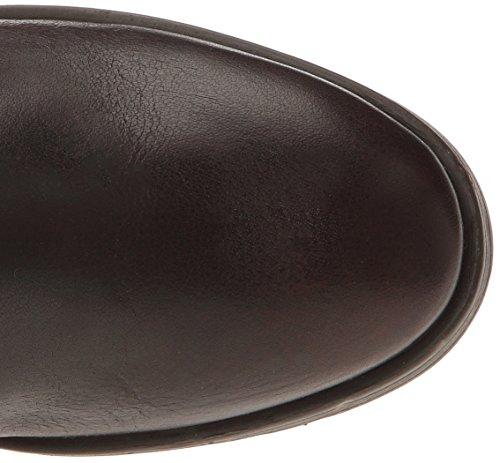 Kickers Ashighbis - Botas de cuero mujer marrón - Marron (92 Marron Foncé)