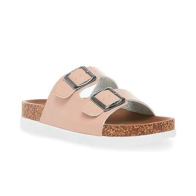78595d6b328 Madden Girl Women s GOLDIIE Slide Sandal Blush Paris 10 ...