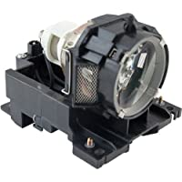 Emazne SP-LAMP-027 Projector Replacement Compatible Lamp With Housing For Ask Proxima C445+ 3M 78-6969-9893-5 X90 X90W Ask C445 C445 Plus Dukane 456-8943 Imagepro 8918 Infocus IN42 IN42+