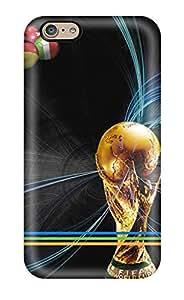 Hot Design Premium VngtoaJ28252jWALE Tpu Case Cover Iphone 6 Protection Case(football)