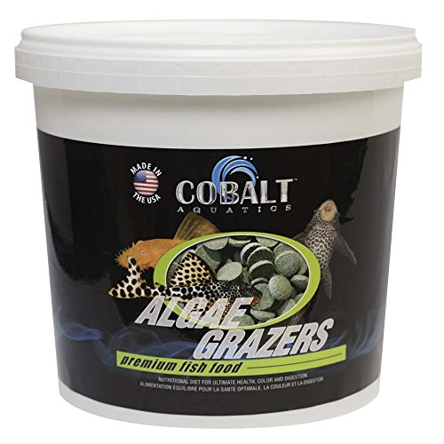 (Cobalt Aquatics Algae Grazers Wafer, 48 oz)