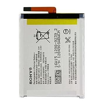 Xperia XA Batterie pour dorigine Sony LIS1618ERPC 1298-9239 pour Sony Xperia E5 Xperia XA Dual avec chiffon de nettoyage mungoo