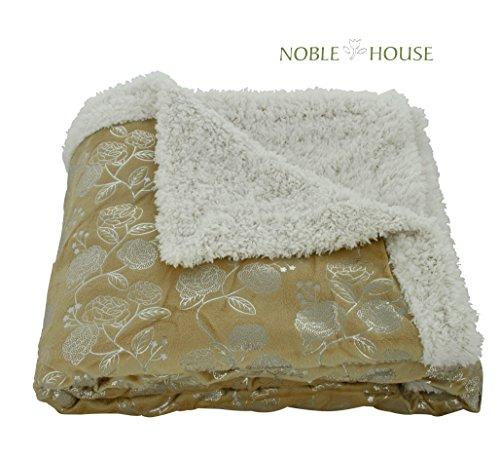 benjonah-designer-plush-silver-flower-sherpa-throw-blanket-50-x-60-gold