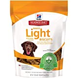 Hill's Dog Treats Baked Light Dog Biscuits with Re...