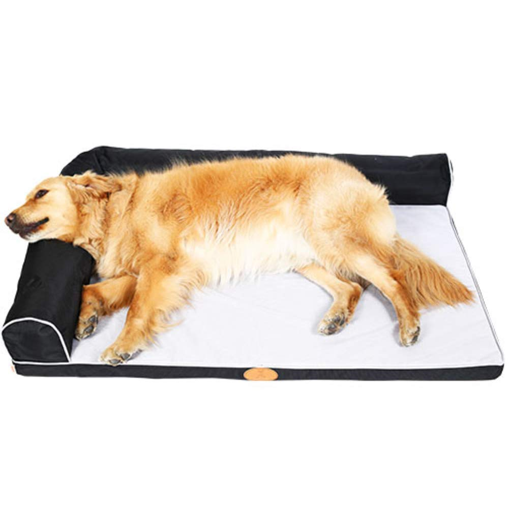 Gperw Waterproof Dog bed, Durable Non-skid Pet nest, Orthopedic relief, Soft-C S Non Slip Cushion Pad