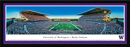 Washington Huskies Football - End Zone - Blakeway Panoramas Print