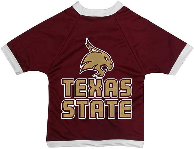 NCAA Texas Longhorns Athletic Mesh Dog Jersey