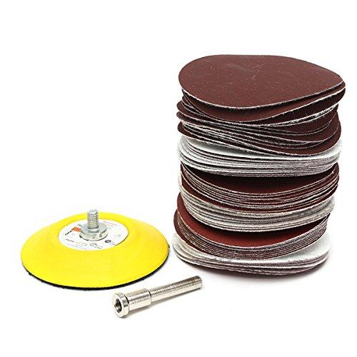 5 Diameter 220 Grit Aluminum Oxide VSM 84874 PSA Cloth Disc Pack of 100