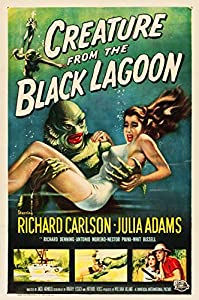 American Gift Services Creature from The Black Lagoon Vintage Movie Poster 24x36 inches by American Gift Services