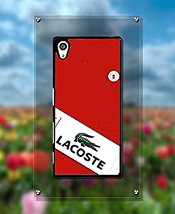 Snap On Sony Z5 Funda Case Rugged Brand-Lacoste Drop Proof + Anti Dust Hard Shell Vintage Funda Case for Sony Xperia Z5 (Not for Z5 V / Z5 Compact)