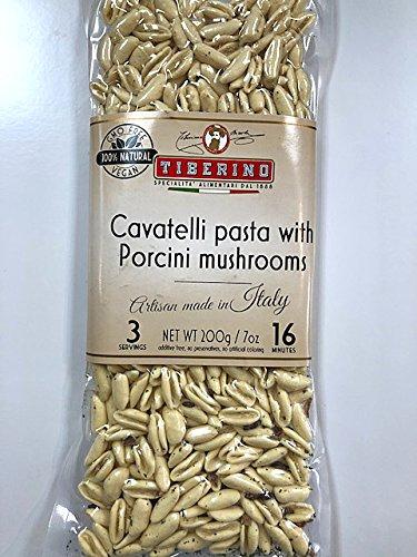 Tiberino's Real Italian Meals - Cavatelli pasta with Porcini by Tiberino