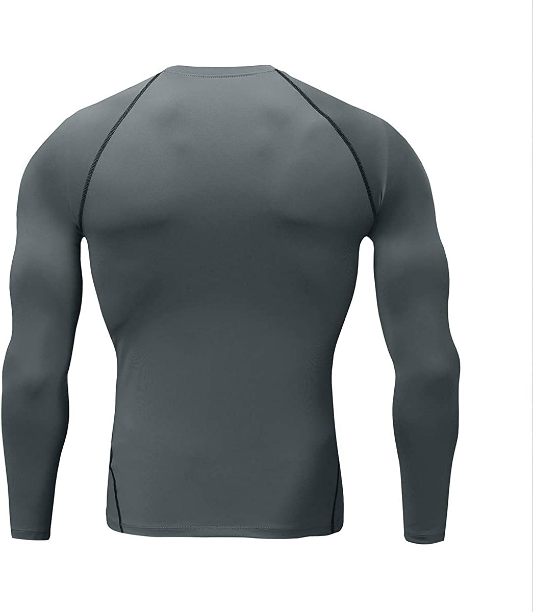 Boyufitness Mens 1~3 Pack Compression Cool Dry/Athletic Sleeveless Muscle Baselayer Shirts