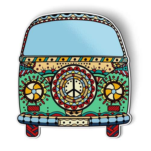 AK Wall Art Volkwagen Peace Van - Magnet - Car Fridge Locker - Select -