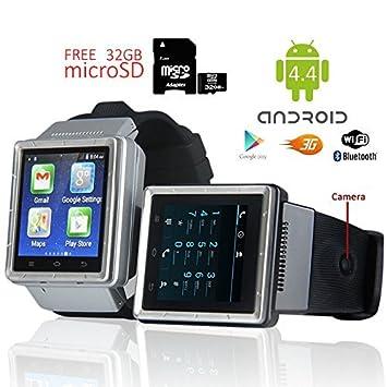 inDigi® 3 G 2 Smartwatch teléfono (Desbloqueado de fábrica ...