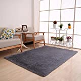 Botrong Fluffy Rugs Anti-Skid Shaggy Area Rug Dining Room Home Bedroom...