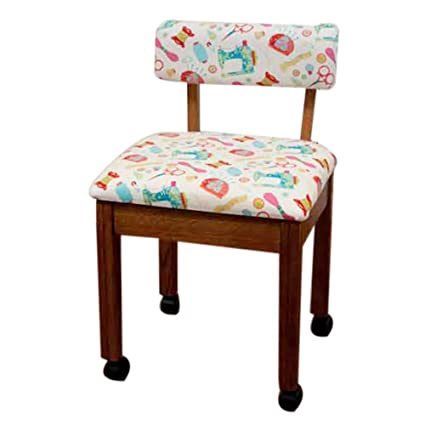Beau Arrow Sewing Print Material Sewing Chair
