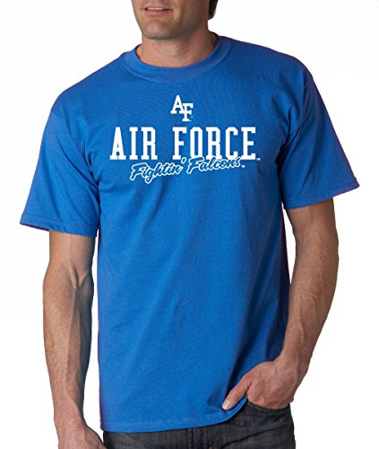 - J2 Sport US Air Force Academy Falcons NCAA Campus Script Unisex T-Shirt