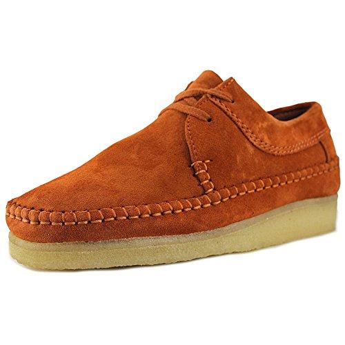 clarks-originals-weaver-men-us-105-brown-moccasins