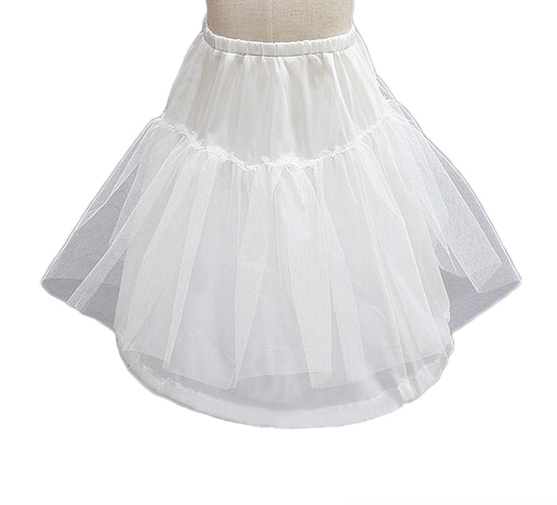 AliceHouse Kids Crinoline Petticoat Flower Girl Wedding Underskirt Slip MPC30