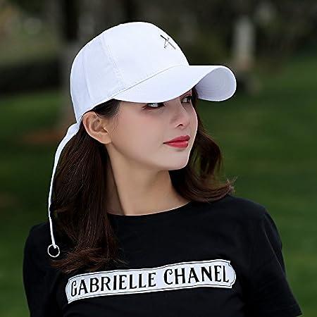 YXLMZ Señoras Mujeres Primavera Verano Sombreros Gorra de béisbol ...