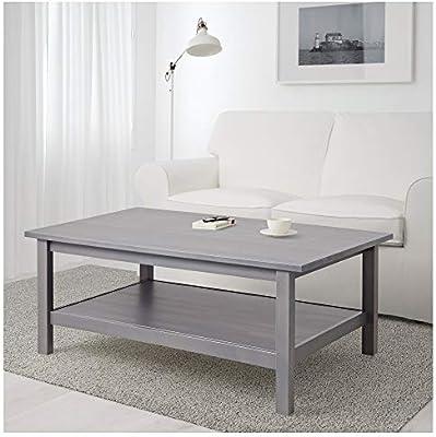 IKEA.. 803.817.36 Hemnes Mesa de café, Gris Oscuro teñido: Amazon ...