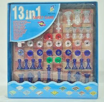 13 in 1 Family Board Game