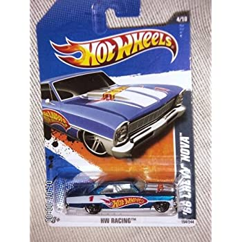 Spielzeugautos 66 Chevy Nova HW Racing Hot Wheels 2011