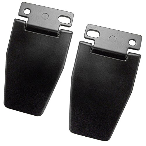- Rugged Ridge 11218.04 Black Liftgate Hinge Kit
