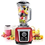 'Posame PS-BR1701RD Smoothie Blender 1500W High Speed 30000RPM Kitchen Multifunctional Soup Maker 76Oz,10 Speed Setting Heating Function (Red and Silver)' from the web at 'https://images-na.ssl-images-amazon.com/images/I/51fHI0fAlXL._AC_SR160,160_.jpg'