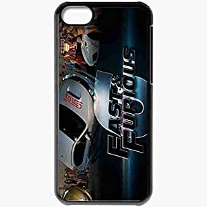 Personalized iPhone 5C Cell phone Case/Cover Skin Fast Furious 6 Movie Movie Black