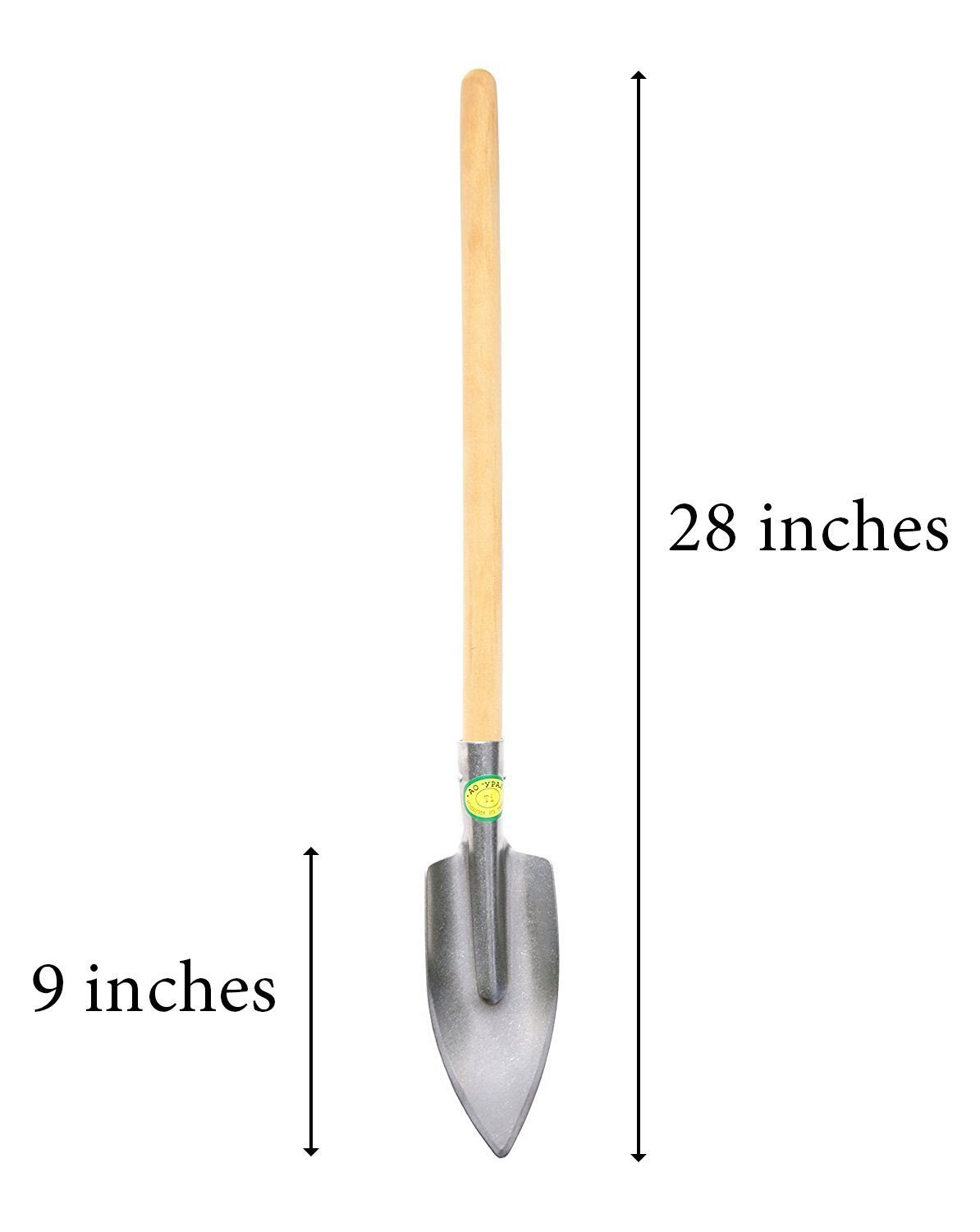 Titanium Super Durable Long Handled Gardening Trowel