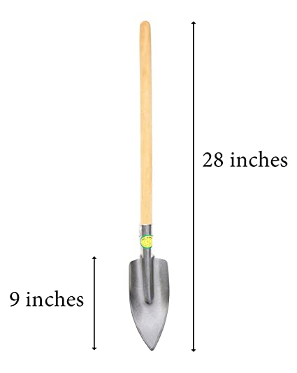 Genial Titanium Super Durable Long Handled Gardening Trowel