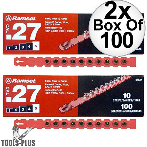Load 27 Cal Strip - Ramset 5RS27 10 Strips of 10 (200 total) #5
