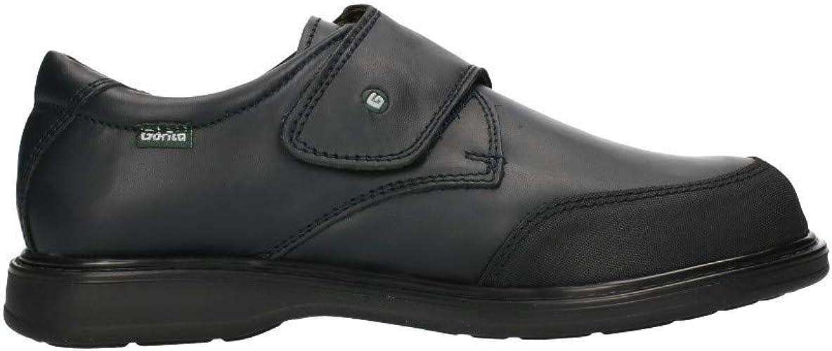 Zapato Escolar Azul Velcro Gorila 31401