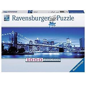 Ravensburger 15050 - Leuchtendes New York - 1000 Teile Panorama-Puzzle