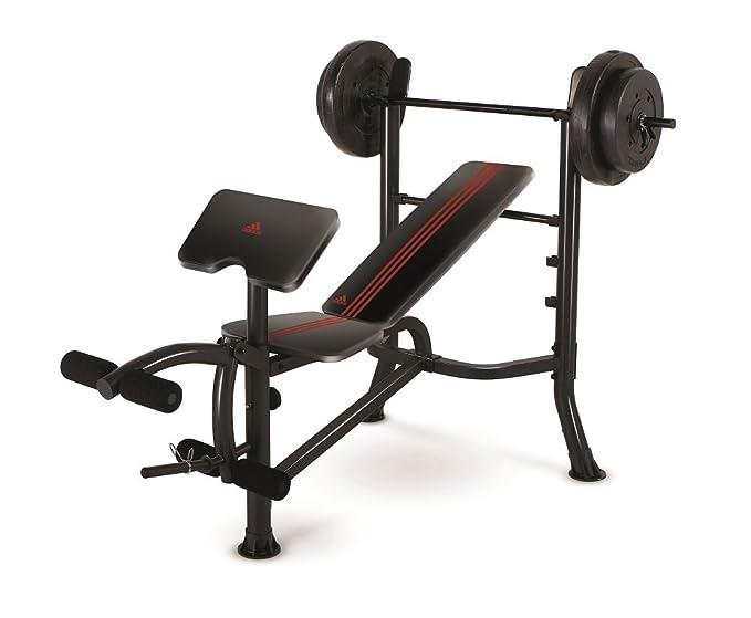 Adidas Strength Bench w/45kg: Amazon.es: Deportes y aire libre