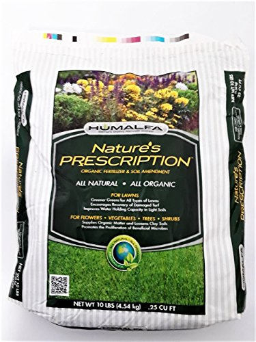 Humalfa Organic Compost Fertilizer Concentrated Strength (10 Lbs. Makes 40 Lbs.) Preferred by Master Gardeners. Larger, Tastier Vegetables and Bigger More Colorful Flowers. Significantly Higher Yields
