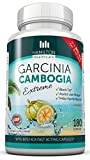 #8: 80% HCA Super Strength Garcinia Cambogia Extreme 180 Fast Acting Capsules. All Natural Appetite Suppressant and Weight Loss Supplement By Hamilton Healthcare up to 1400mg Per Serve for Maximum Results
