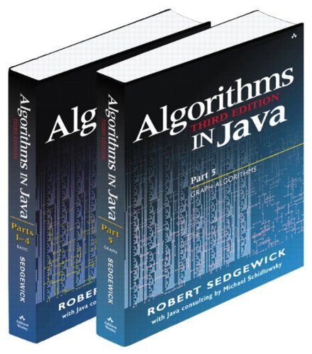 Bundle of Algorithms in Java, Third Edition, Parts 1-5: Fundamentals, Data Structures, Sorting, Searching, and Graph Algorithms (3rd Edition) (Pts. 1-5) by Addison-Wesley Professional