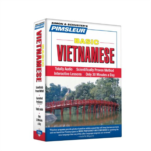 Pimsleur Vietnamese Basic Course - Level 1 Lessons 1-10 CD: Learn to Speak and Understand Vietnamese with Pimsleur Language Programs by Not Available (NA)