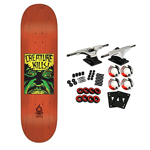Creature Skateboard Complete Ambush Orange 7.75″