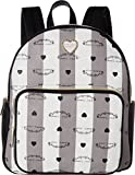Betsey Johnson Women's Backpack Grey Multi One Size