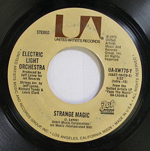(Electric Light Orchestra 45 RPM Strange Magic / New World Rising)