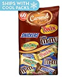 MARS Chocolate Caramel Lovers Fun Size Halloween Candy Bars Variety...