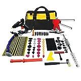 Dent Puller Kit Furuix 56pcs PDR Tools Paintless Dent Repair Glue Dent Repair Dent Removal Tools PDR Kit
