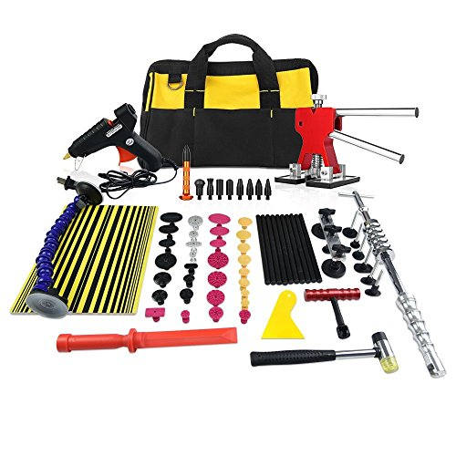 Dent Puller Kit Furuix 56pcs PDR Tools Paintless Dent Repair Glue Dent Repair Dent Removal Tools PDR Kit by Furuix (Image #7)